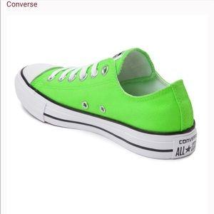 Neon Converse Chuck Sneakers- 9